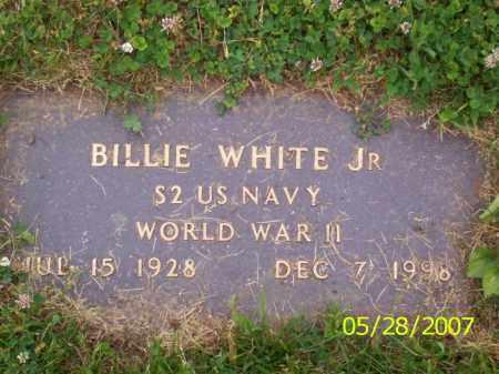WHITE JR., BILLIE - Clermont County, Ohio   BILLIE WHITE JR. - Ohio Gravestone Photos