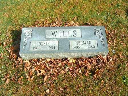 WILLS, FLOSSIE  B - Clermont County, Ohio | FLOSSIE  B WILLS - Ohio Gravestone Photos