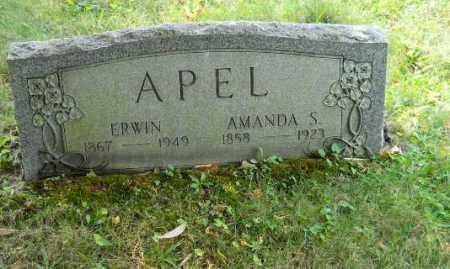 APEL, AMANDA S - Columbiana County, Ohio | AMANDA S APEL - Ohio Gravestone Photos