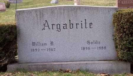 ARGABRITE, GOLDIE - Columbiana County, Ohio   GOLDIE ARGABRITE - Ohio Gravestone Photos