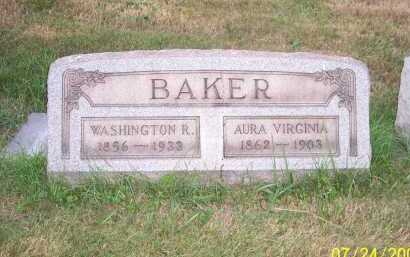 BAKER, WASHINGTON R. - Columbiana County, Ohio | WASHINGTON R. BAKER - Ohio Gravestone Photos