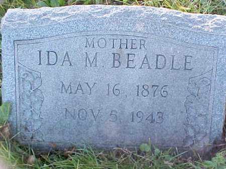 POULTON BEADLE, IDA M - Columbiana County, Ohio   IDA M POULTON BEADLE - Ohio Gravestone Photos