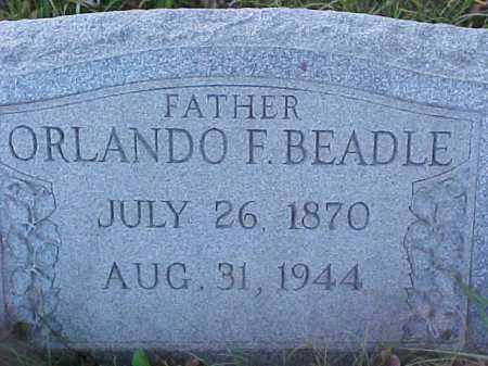 BEADLE, ORLANDO FRANKLIN - Columbiana County, Ohio   ORLANDO FRANKLIN BEADLE - Ohio Gravestone Photos