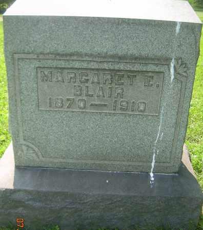 BLAIR, MARGARET E - Columbiana County, Ohio | MARGARET E BLAIR - Ohio Gravestone Photos