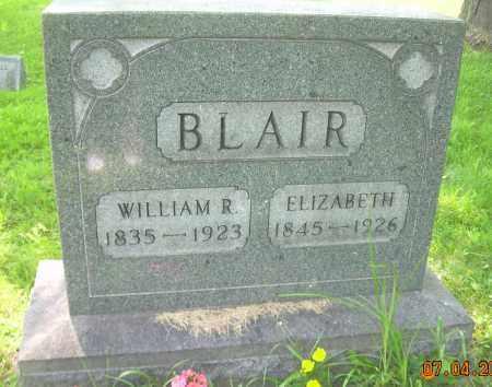 BLAIR, WILLIAM R. - Columbiana County, Ohio | WILLIAM R. BLAIR - Ohio Gravestone Photos