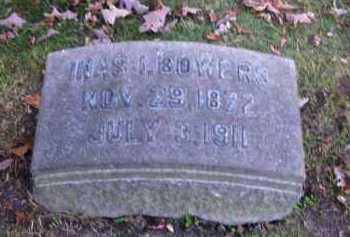 BOWERS, INAS I. - Columbiana County, Ohio | INAS I. BOWERS - Ohio Gravestone Photos