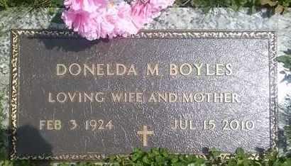 BOYLES, DONELDA - Columbiana County, Ohio | DONELDA BOYLES - Ohio Gravestone Photos