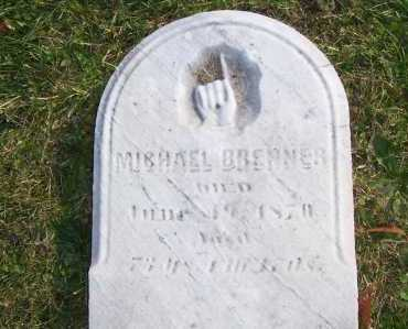 BRENNER, MICHAEL - Columbiana County, Ohio | MICHAEL BRENNER - Ohio Gravestone Photos