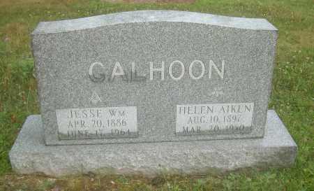 AIKEN CALHOON, HELEN - Columbiana County, Ohio   HELEN AIKEN CALHOON - Ohio Gravestone Photos