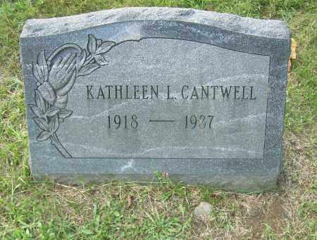 CANTWELL, KATHLEEN L - Columbiana County, Ohio | KATHLEEN L CANTWELL - Ohio Gravestone Photos