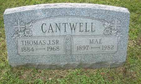 CANTWELL, THOMAS J, SR - Columbiana County, Ohio | THOMAS J, SR CANTWELL - Ohio Gravestone Photos