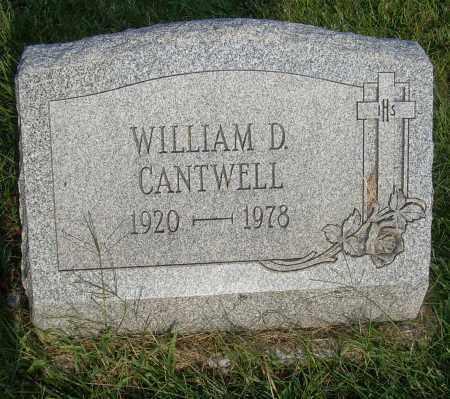 CANTWELL, WILLIAM D - Columbiana County, Ohio | WILLIAM D CANTWELL - Ohio Gravestone Photos