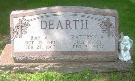 STEFFEN DEARTH, KATHRYN A - Columbiana County, Ohio   KATHRYN A STEFFEN DEARTH - Ohio Gravestone Photos