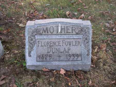 DUNLAP, FLORENCE - Columbiana County, Ohio | FLORENCE DUNLAP - Ohio Gravestone Photos