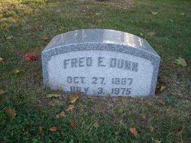 DUNN, FRED E. - Columbiana County, Ohio   FRED E. DUNN - Ohio Gravestone Photos