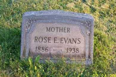 EVANS, ROSE ELLEN - Columbiana County, Ohio | ROSE ELLEN EVANS - Ohio Gravestone Photos