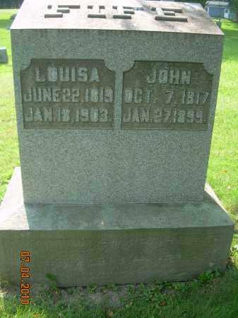 CROW FIFE, LOUISA - Columbiana County, Ohio   LOUISA CROW FIFE - Ohio Gravestone Photos