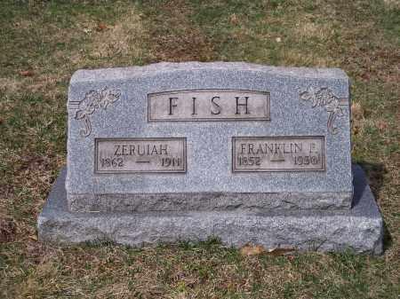 FISH, ZERUIAH - Columbiana County, Ohio | ZERUIAH FISH - Ohio Gravestone Photos
