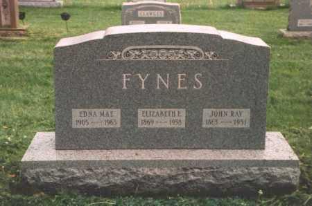 FYNES, EDNA MAE - Columbiana County, Ohio | EDNA MAE FYNES - Ohio Gravestone Photos