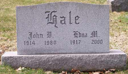 HALE, JOHN D. - Columbiana County, Ohio   JOHN D. HALE - Ohio Gravestone Photos