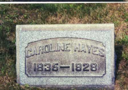 HAYES, CAROLINE - Columbiana County, Ohio | CAROLINE HAYES - Ohio Gravestone Photos