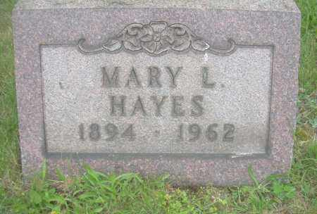 HAYES, MARY L - Columbiana County, Ohio   MARY L HAYES - Ohio Gravestone Photos