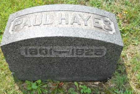 HAYES, PAUL - Columbiana County, Ohio   PAUL HAYES - Ohio Gravestone Photos
