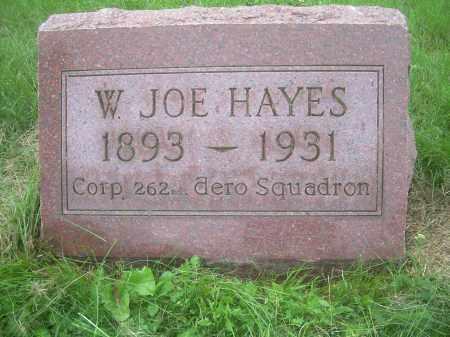 HAYES, WILLIAM JOSEPH - Columbiana County, Ohio | WILLIAM JOSEPH HAYES - Ohio Gravestone Photos