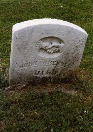 JOHN, BRENNER - Columbiana County, Ohio | BRENNER JOHN - Ohio Gravestone Photos