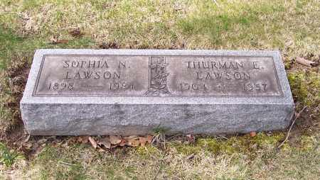 LAWSON, SOPHIA N. - Columbiana County, Ohio | SOPHIA N. LAWSON - Ohio Gravestone Photos
