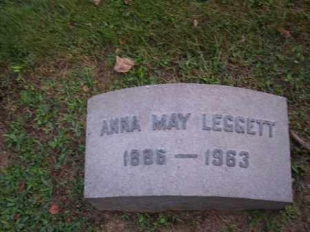 LEGGETT, ANNA MAY - Columbiana County, Ohio   ANNA MAY LEGGETT - Ohio Gravestone Photos