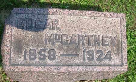 MCCARTNEY, EDGAR - Columbiana County, Ohio | EDGAR MCCARTNEY - Ohio Gravestone Photos