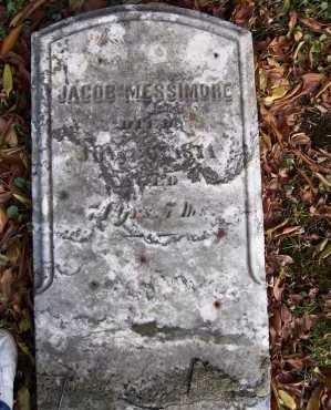 MESSIMORE, JACOB - Columbiana County, Ohio   JACOB MESSIMORE - Ohio Gravestone Photos