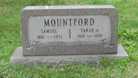 MOUNTFORD, SAMUEL - Columbiana County, Ohio   SAMUEL MOUNTFORD - Ohio Gravestone Photos