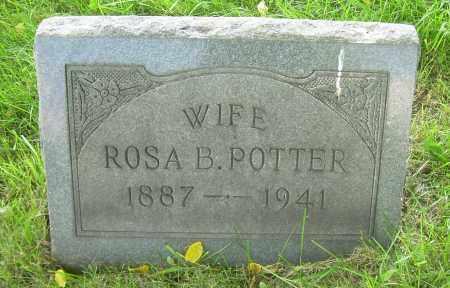 POTTER, ROSA B - Columbiana County, Ohio | ROSA B POTTER - Ohio Gravestone Photos
