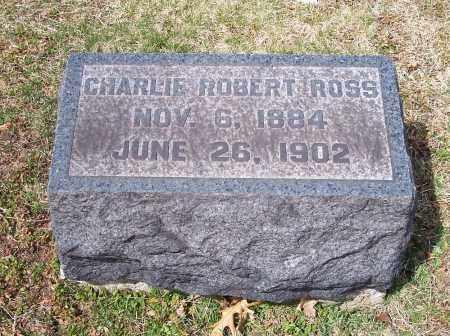 ROSS, CHARLIE ROBERT - Columbiana County, Ohio   CHARLIE ROBERT ROSS - Ohio Gravestone Photos