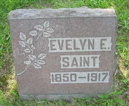 SAINT, EVELYN E. - Columbiana County, Ohio | EVELYN E. SAINT - Ohio Gravestone Photos