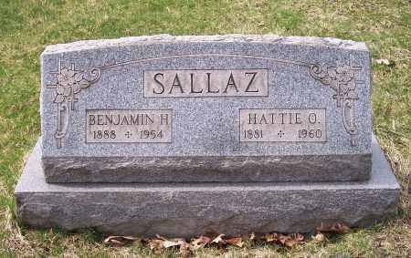 SALLAZ, HATTIE O. - Columbiana County, Ohio | HATTIE O. SALLAZ - Ohio Gravestone Photos