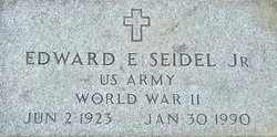 SEIDEL, EDWARD - Columbiana County, Ohio   EDWARD SEIDEL - Ohio Gravestone Photos