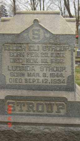STROUP, LUCINDA - Columbiana County, Ohio | LUCINDA STROUP - Ohio Gravestone Photos