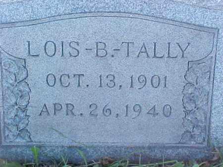 TALLY, LOIS - Columbiana County, Ohio | LOIS TALLY - Ohio Gravestone Photos