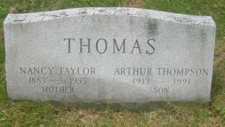 THOMAS, ARTHUR THOMPSON - Columbiana County, Ohio   ARTHUR THOMPSON THOMAS - Ohio Gravestone Photos