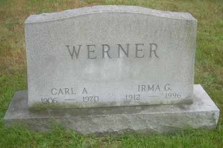 WERNER, IRMA G - Columbiana County, Ohio   IRMA G WERNER - Ohio Gravestone Photos