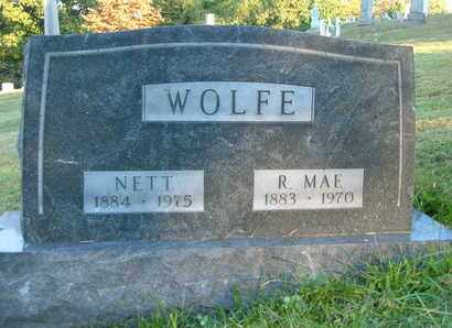 WOLFE, ROXIE MAE - Columbiana County, Ohio | ROXIE MAE WOLFE - Ohio Gravestone Photos