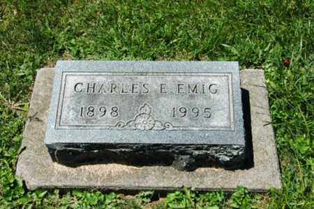 EMIG, CHARLES E. - Coshocton County, Ohio   CHARLES E. EMIG - Ohio Gravestone Photos