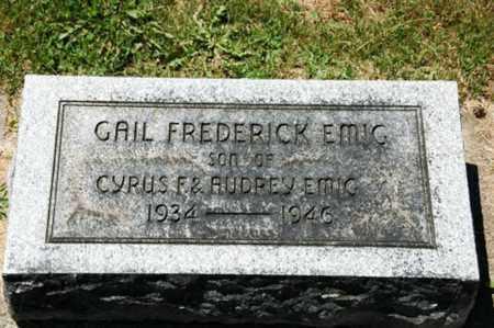 EMIG, GAIL FREDERICK - Coshocton County, Ohio | GAIL FREDERICK EMIG - Ohio Gravestone Photos