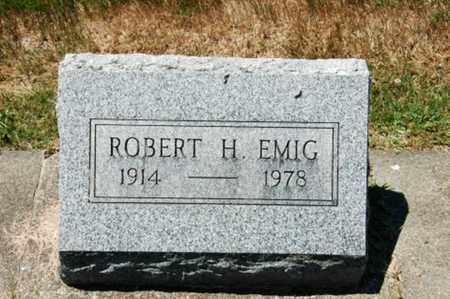 EMIG, ROBERT H. - Coshocton County, Ohio | ROBERT H. EMIG - Ohio Gravestone Photos