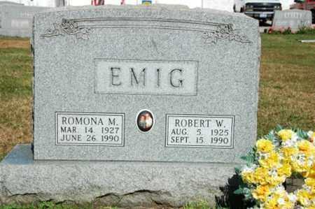 EMIG, ROMONA M. - Coshocton County, Ohio   ROMONA M. EMIG - Ohio Gravestone Photos