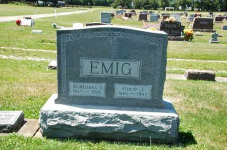 EMIG, PHILIP J. - Coshocton County, Ohio | PHILIP J. EMIG - Ohio Gravestone Photos