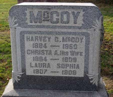 MCCOY, CHRISTA A. - Coshocton County, Ohio | CHRISTA A. MCCOY - Ohio Gravestone Photos